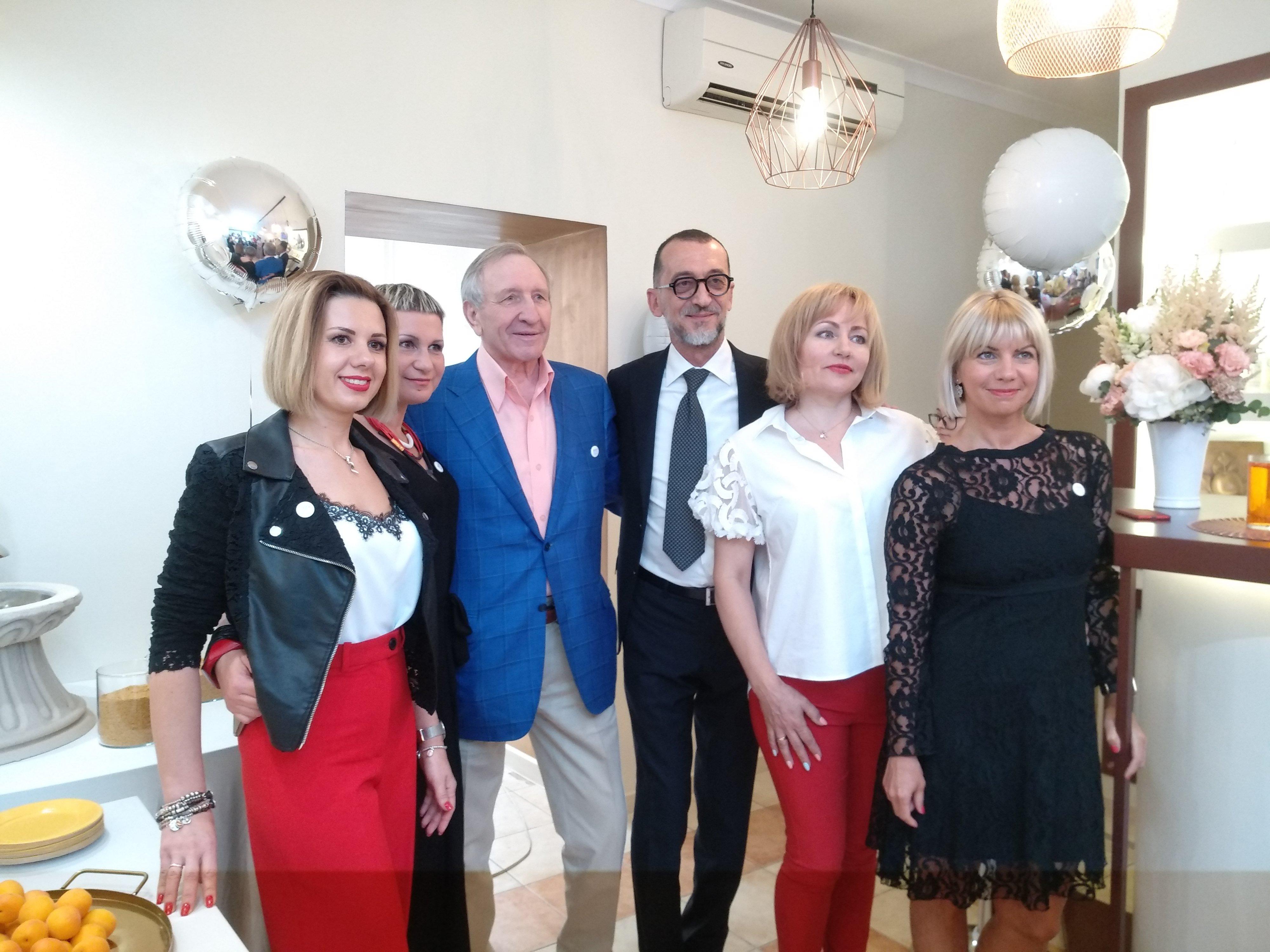 Открытие нового учебного центра Barex Italiana в Москве