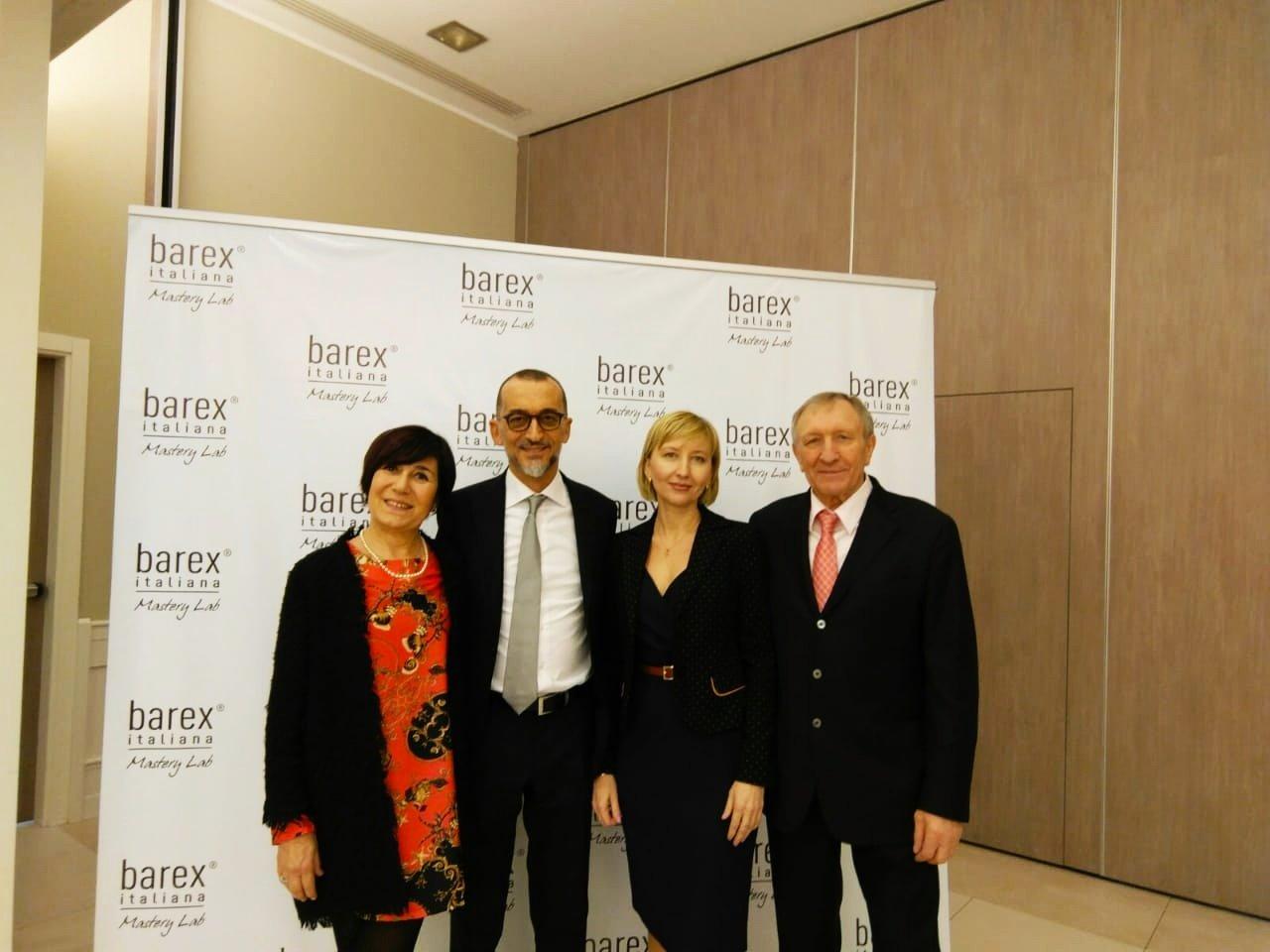 Международная встреча дистрибьюторов  Barex Italiana