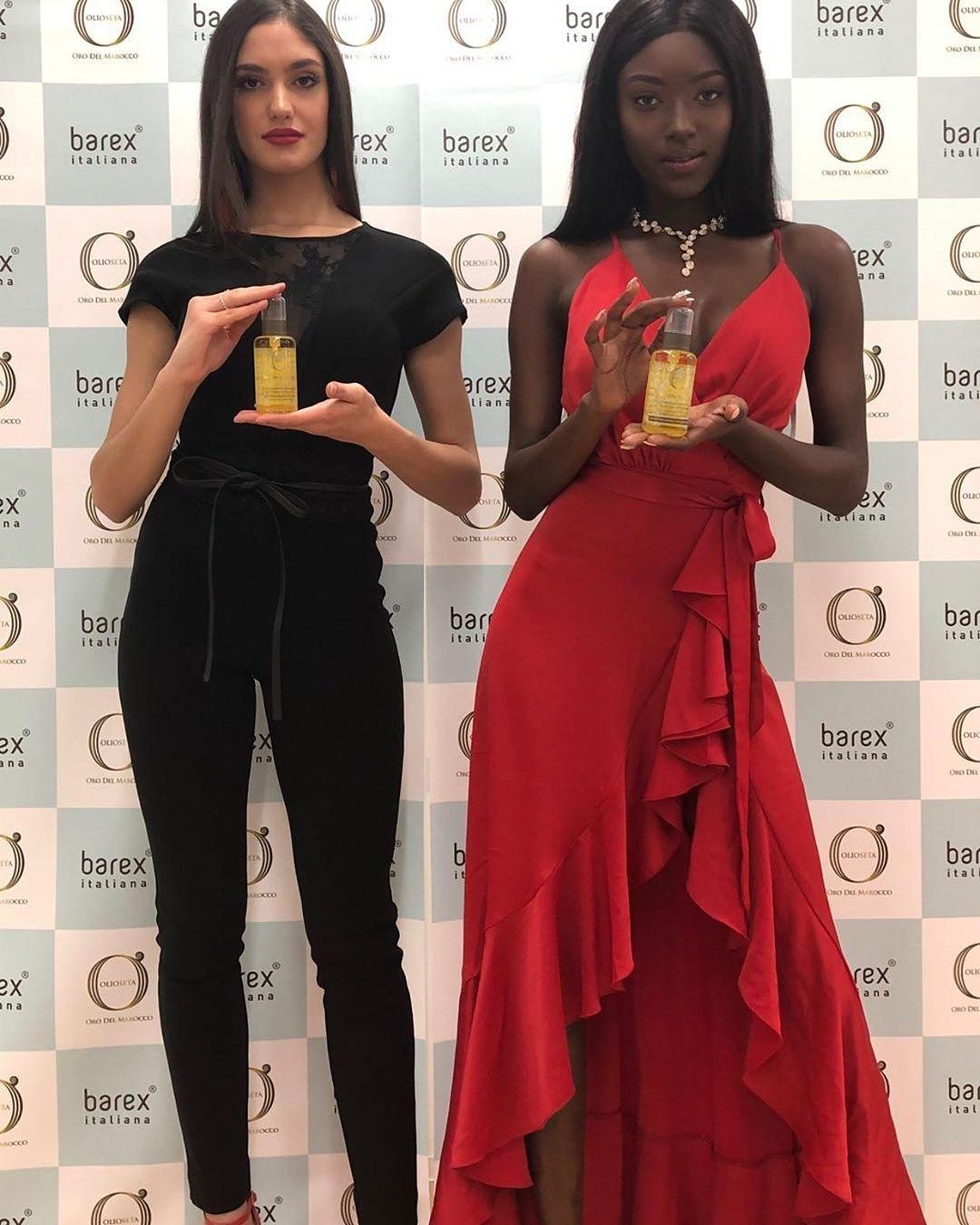 Первые красавицы мира выбирают Oro Del Marocco Barex Italiana
